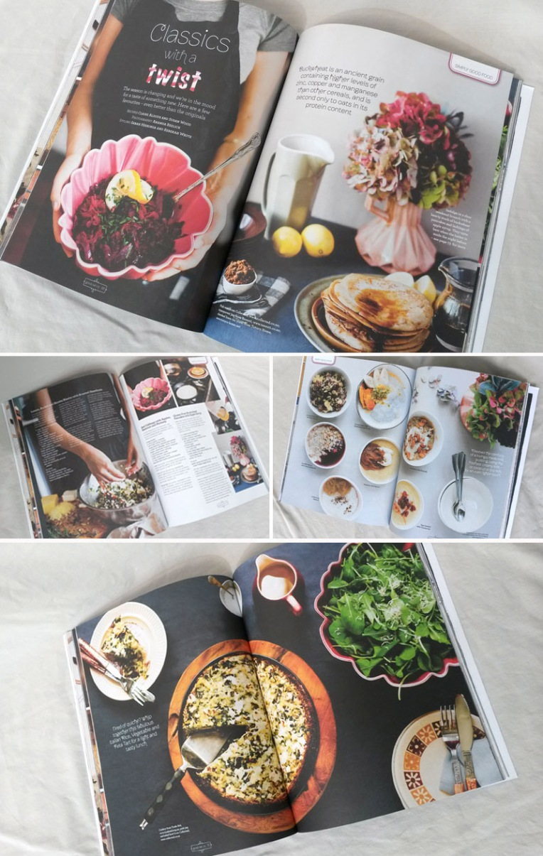 Good magazine food pages