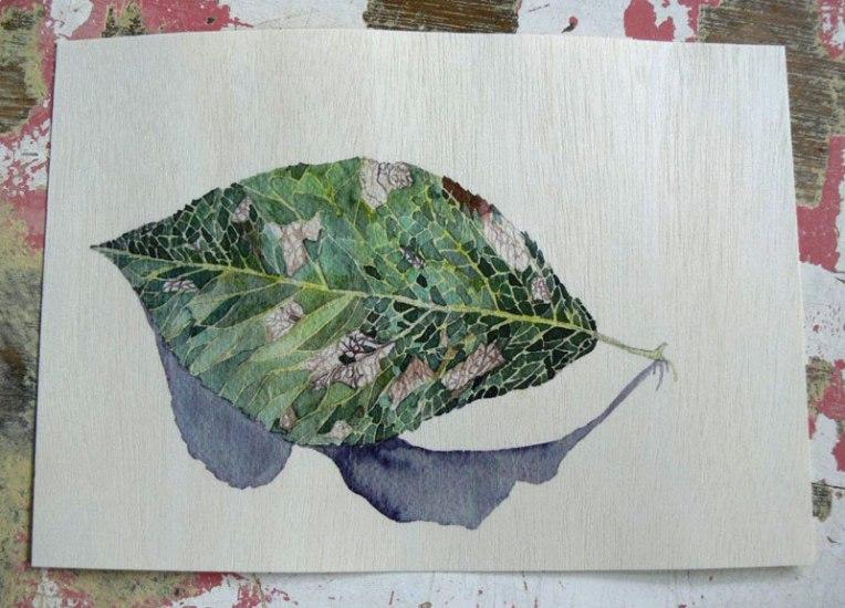 Pear-leaf